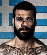 Mixed Martial Arts Fighter - Hero Galanos