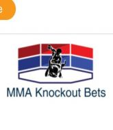 MMA MHandicapper - MMA Knockout Bets